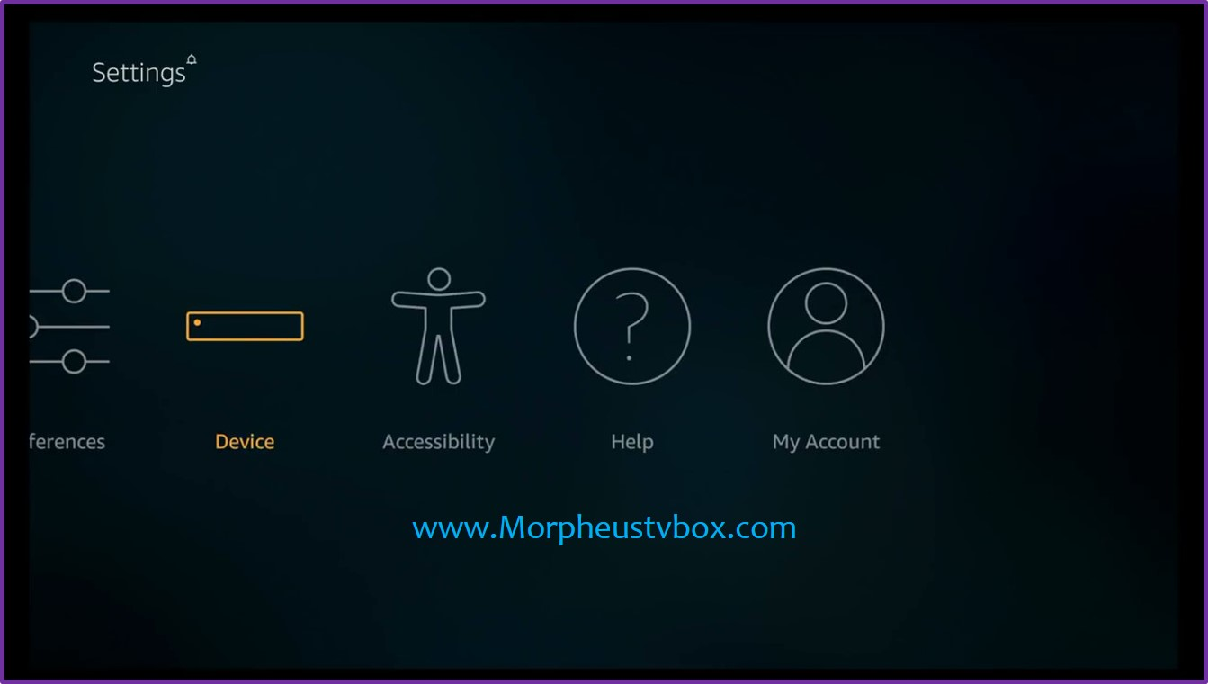 morpheus tv fire stick device