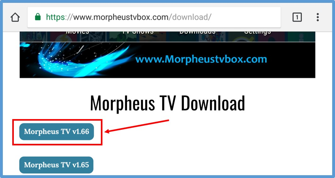 Morpheus TV APK 1 66 [Updated] | Download for Android, iOS