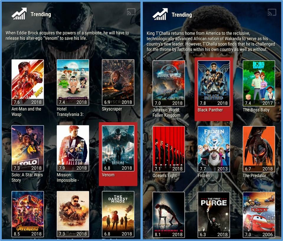 morpheus tv latest movies